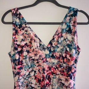 Cynthia Rowley. Watercolor Floral Maxi Dress